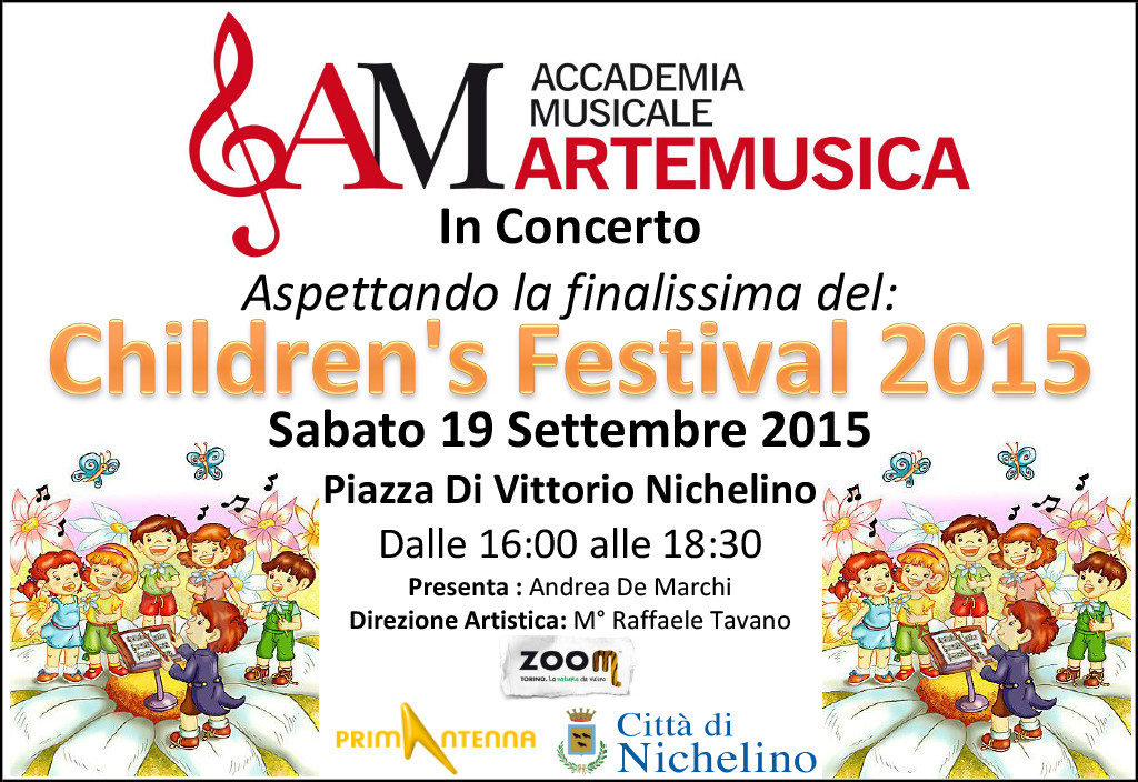 Artemusica_Children Festival 2015 Nichelino_2